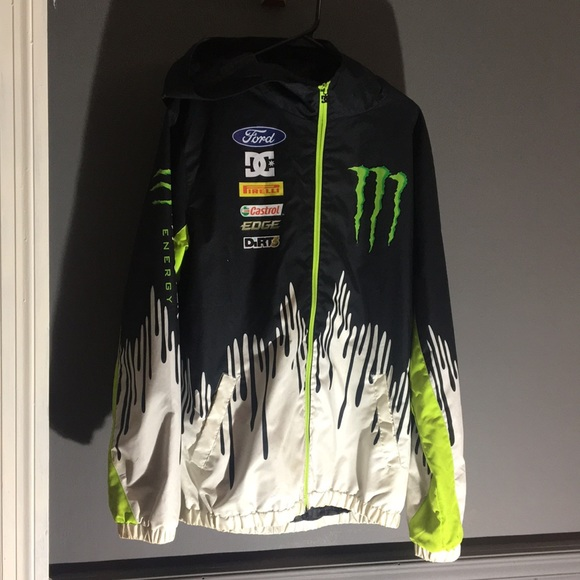 DC Other - Ken Block-Monster Energy DC Wind/Rain Jacket